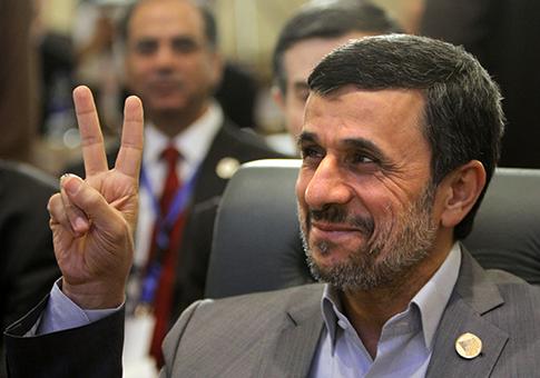 Iranian President Mahmoud Ahmadinejad / AP