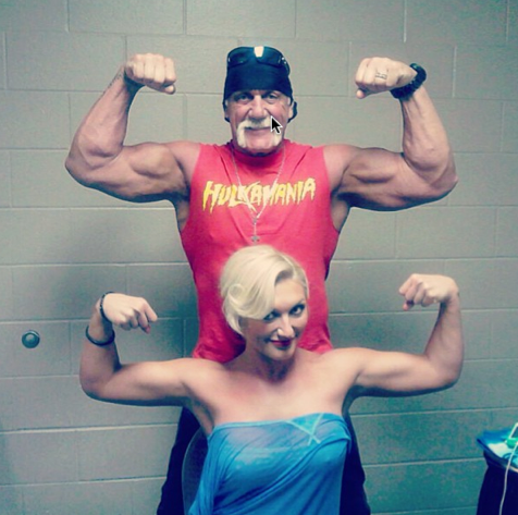 Brooke Hogan and Hulk Hogan/Instagram