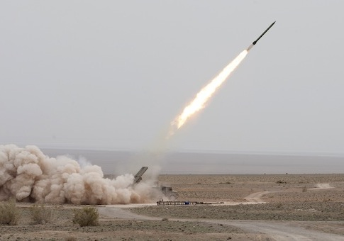 Iranian missile launch / AP