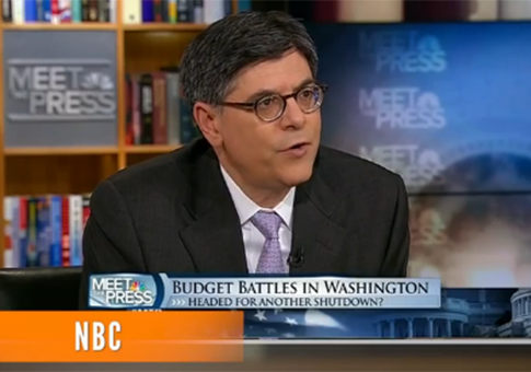 "Jack Lew on ""Meet the Press"""
