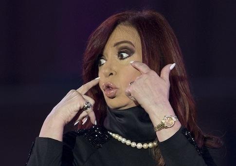 Cristina Fernandez Kirchner / AP