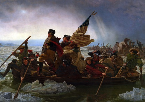 Washington Crossing the Delaware / Wikimedia Commons