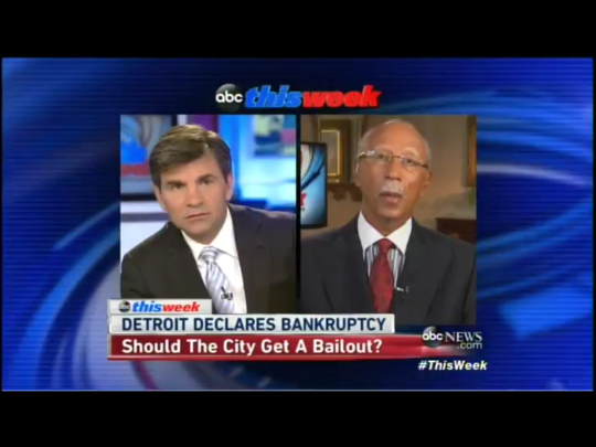George Stephanopoulos, Dave Bing