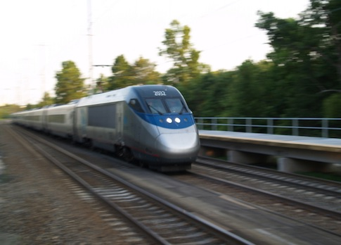Acela train / Wikimedia Commons