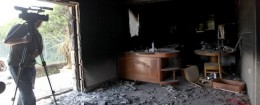 Gutted U.S. consulate in Benghazi / AP