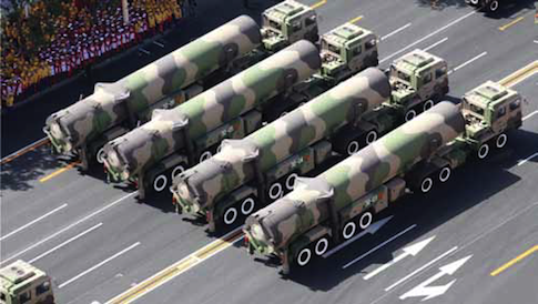 Chinese DF-31 missiles / Air Force National Air and Space Intelligence Center report