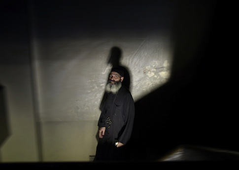 A Coptic Bishop in Cairo / AP