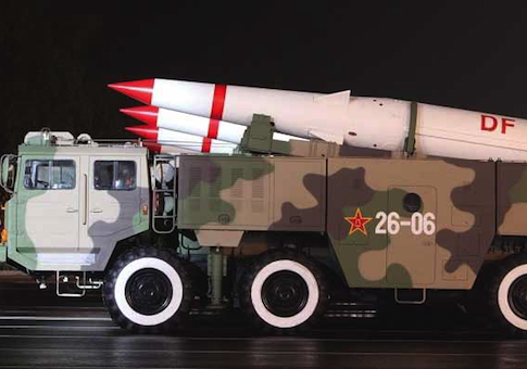 DF-15 short-range Chinese missile / Source: Chinese Internet
