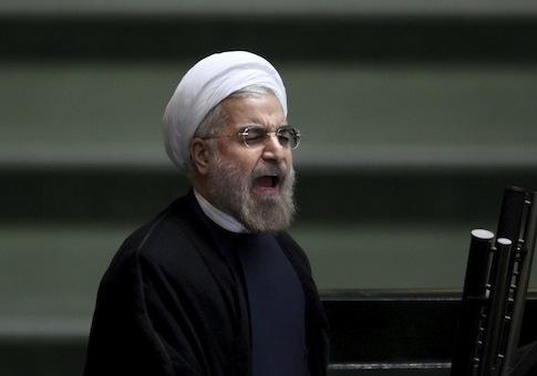 Iranian President Hassan Rouhani / AP
