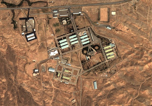 This Aug. 13, 2004, satellite image shows the military complex at Parchin, Iran. AP
