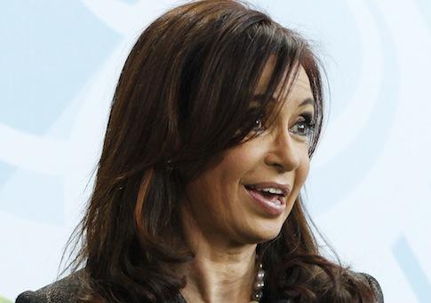 Cristina Kirchner / AP