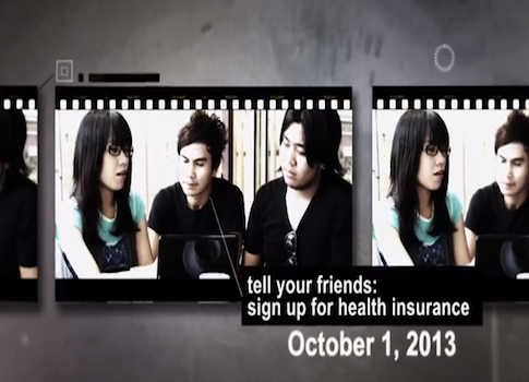 A screenshot of the Department of Health and Human Services promotional video / Youtube