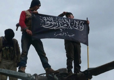 Rebels from al Qaeda affiliated Jabhat al-Nusra / AP