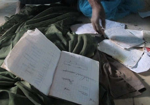 A confidential letter was found from terror leader Abdelmalek Droukdel spelling out the terror network's blueprint / AP