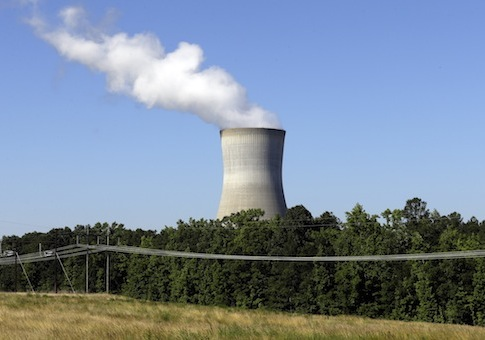 Nuclear reactor in Holly Springs, N.C. / AP