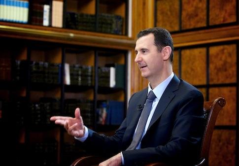 Bashar al-Assad / AP