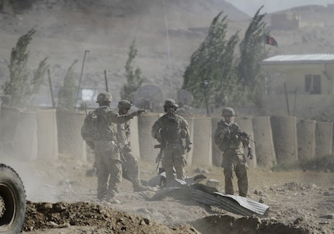 U.S. troops in Afghanistan/ AP