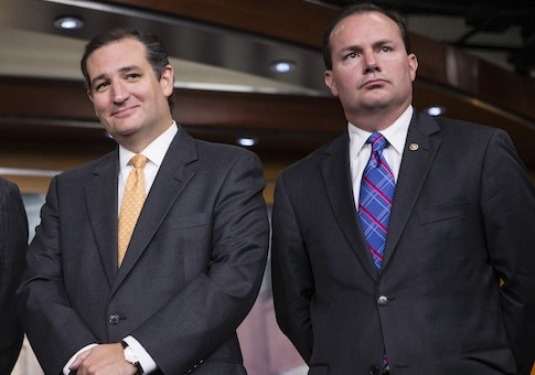 Ted Cruz, Mike Lee / AP