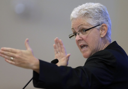 Environmental Protection Agency Administrator Gina McCarthy, EPA, Coal