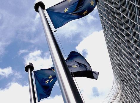 European flags / Wikimedia Commons