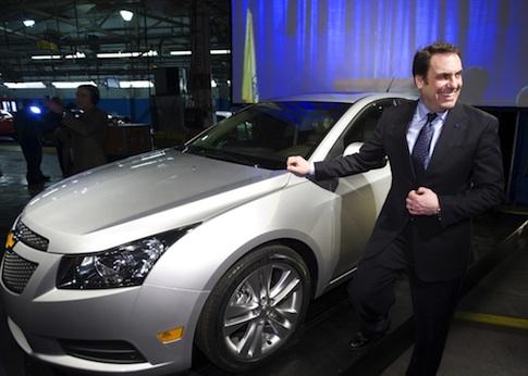 General Motors President Mark Reuss / AP