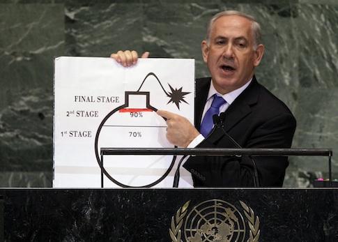Benjamin Netanyahu, Nuclear weapons, Iran, Israel