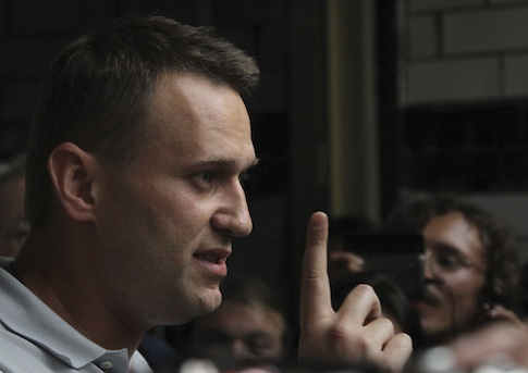 Russian opposition leader Alexei Navalny / AP