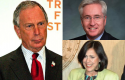 Michael Bloomberg, John Morse, Angela Giron / Wikimedia Commons