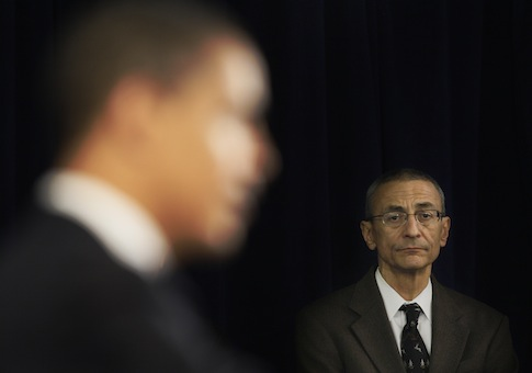 Many of John Podesta's lobbying firm's clients also supported his 501(c)3 Center for American Progress