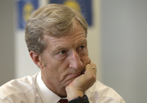 Billionaire environmentalist Tom Steyer / AP