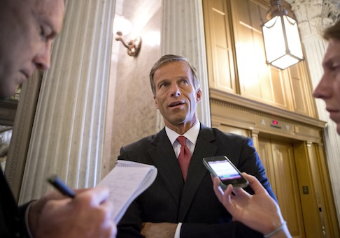 Sen. John Thune, (R., S.D.) chairman of the Senate Republican Conference / AP