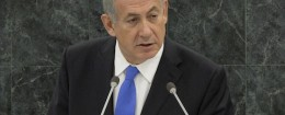 Benjamin Netanyahu at the U.N. / AP