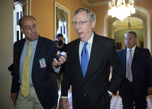 U.S. Senate Minority Leader Mitch McConnell (R., Ky.) / Reuters