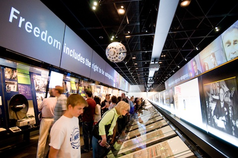 News Corporation News History Gallery / Sam Kittner / Newseum