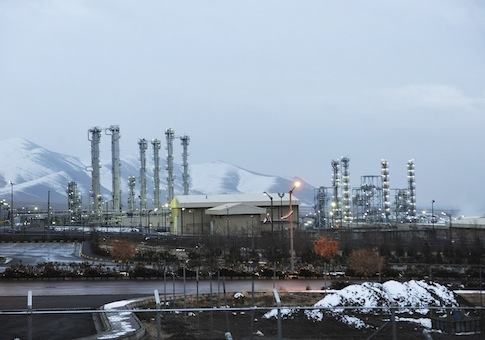 Iran's heavy water nuclear facilities near the central city of Arak / AP