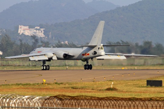 Chinese Air Force H-6 bomber / AP