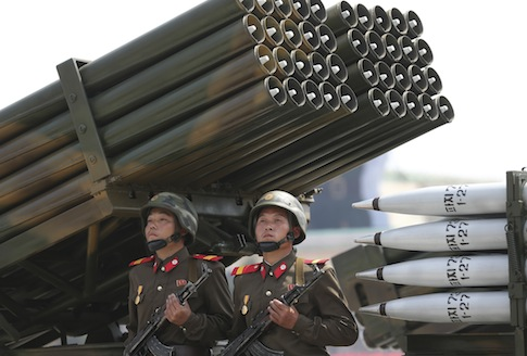 North Korean soldiers / AP