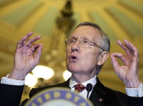 Senate Majority Leader Sen. Harry Reid (D., Nev.) / AP