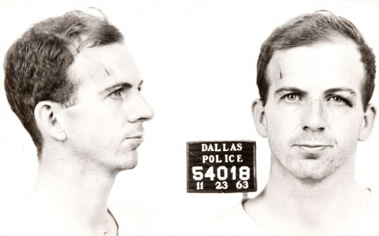 Lee Harvey Oswald, who was apparently driven to kill Kennedy because Republicans are mean, or something