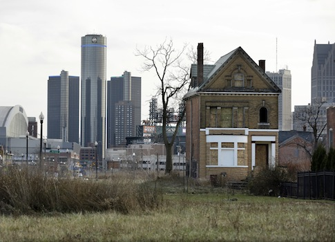 The city of Detroit has been approved for bankruptcy / AP