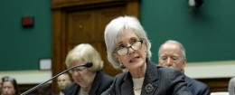 Kathleen Sebelius testifies on Capitol HIll, Dec. 11, 2013 / AP