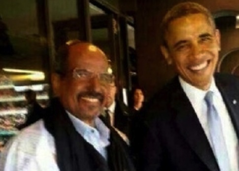 President Barack Obama with Polisario Front leader  Mohamed Abdelaziz / Alif Post