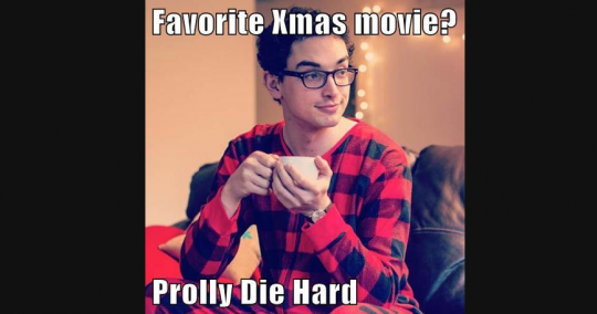 Pajama Boy Die Hard