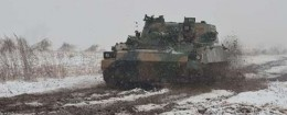 Type 07 122mm cannon in PLA exercises near N. Korea in April / Source: Chinese Internet
