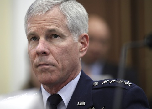 Gen. William Shelton, Commander, U.S. Air Force Space Command / AP