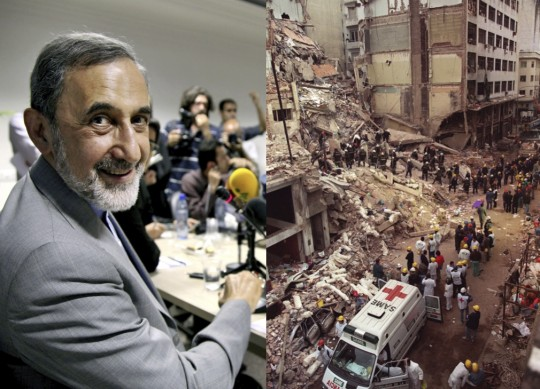 Ali Akbar Velayati and the 1994 AMIA Jewish center bombing