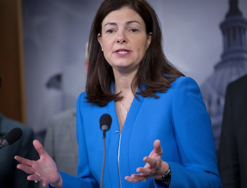Senate Armed Services Committee member Sen. Kelly Ayotte (R., N.H.)