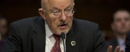 Director of National Intelligence James Clapper testifies on Capitol Hill