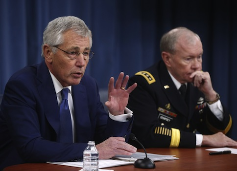 Chuck Hagel orders review of Nuclear forces