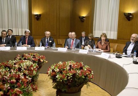 Iran nuclear talks at the Palais des Nations